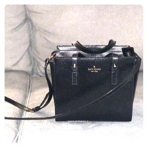 Black satchel kate spade purse. Hayden style.